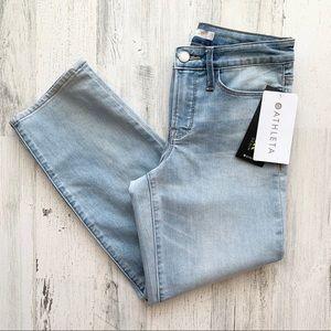 NWT Athleta Skulptek Slim Straight Jeans 4P